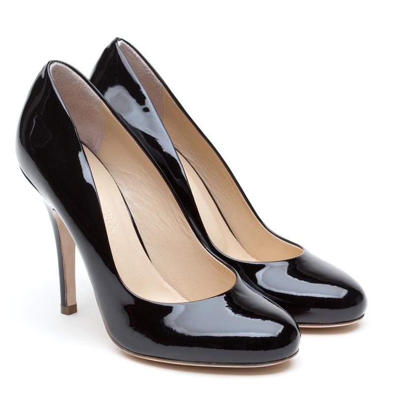 ELLE black vernice pair