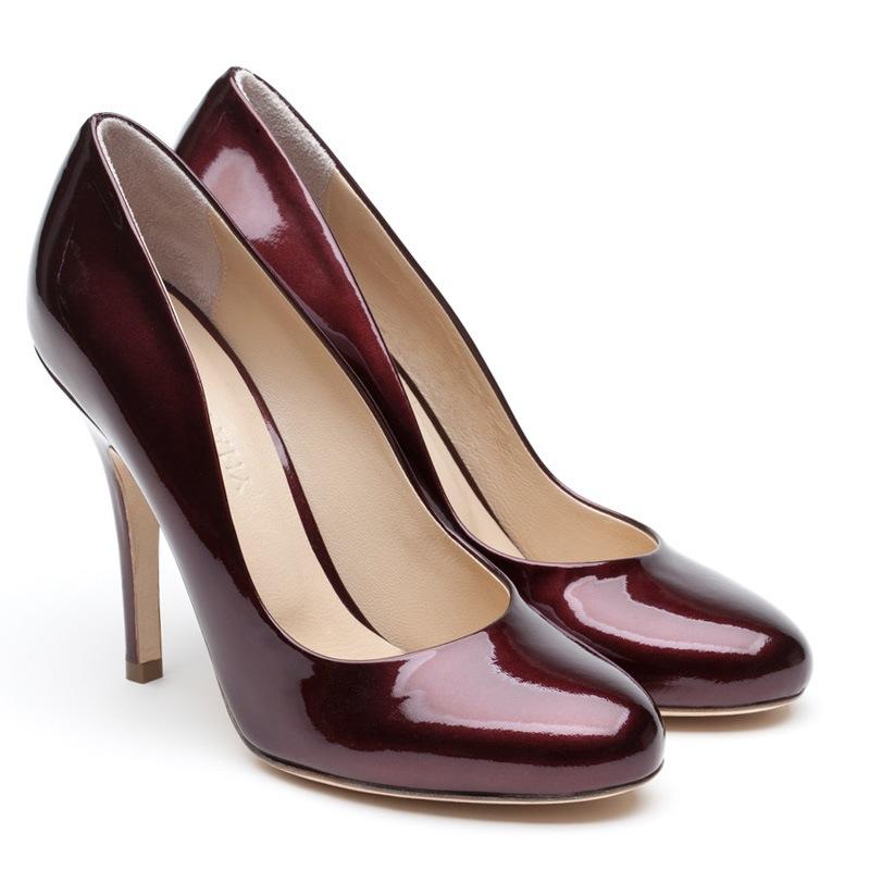 LF0012 Elle samura red patent pair