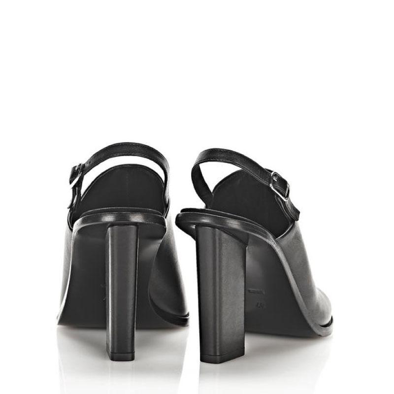 Leather Alexander – Mule Slingback Wang Black Cole In Nn0vm8w