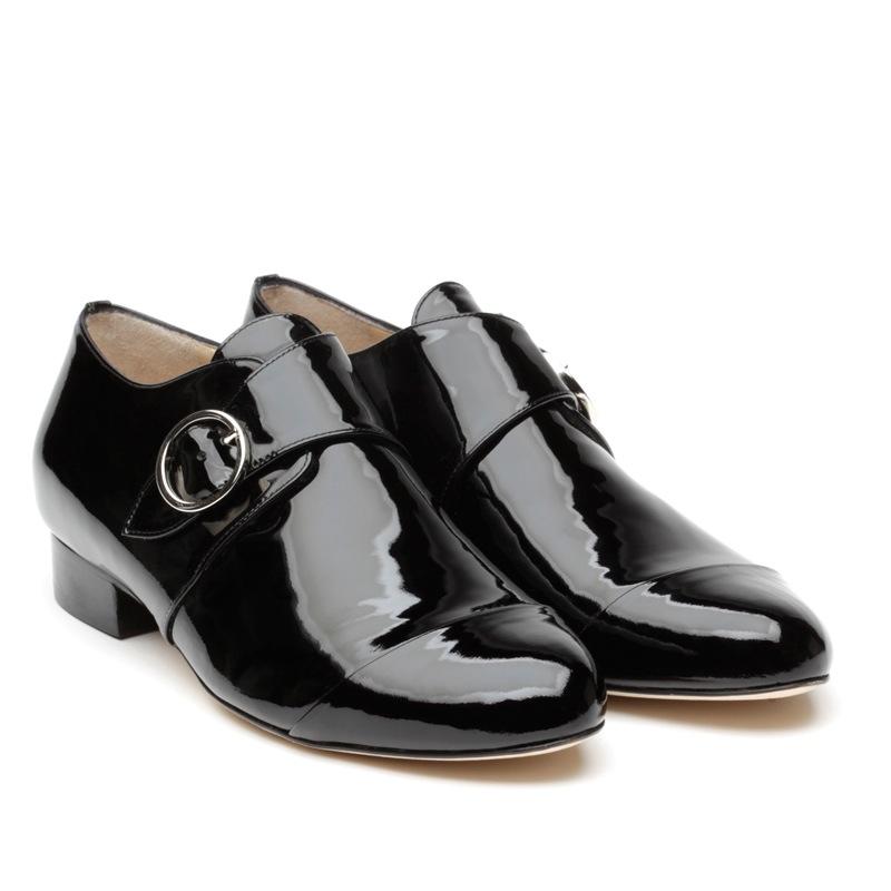 LF0033 Nicole Vernice nero pair
