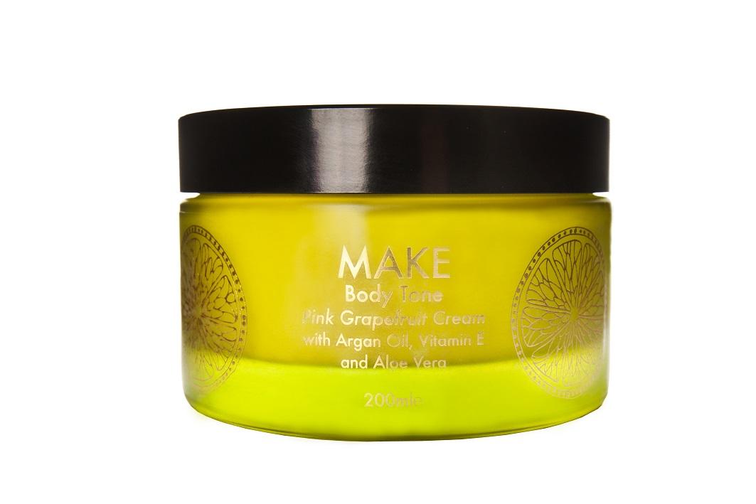 MAKE Body Tone Cream PINK GRAPEFRUIT
