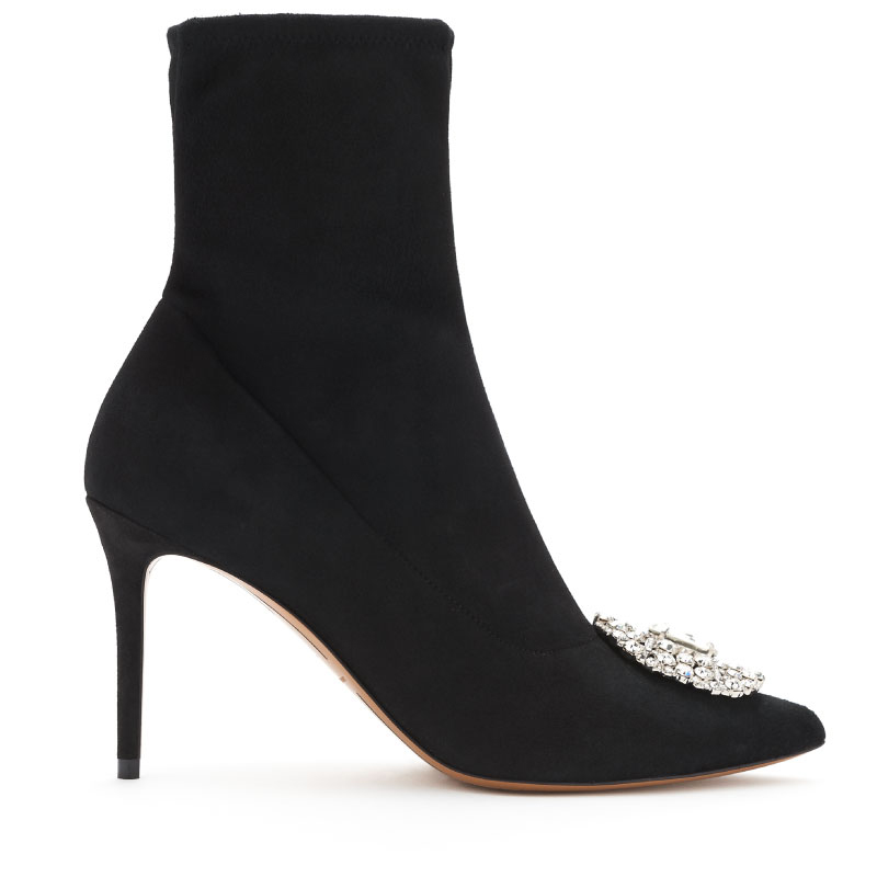 MYSHUBOX.COM---ALEXANDRE-VAUTHIER-DESIGNER-SHOES-LUNA-ANKLE-BOOTIE-IN-BLACK-STRETCH-SUEDE-WITH-9CM-HEEL-